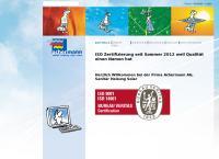 Website von Achermann AG Sanitär Heizung Solar