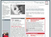 Website von ADHS Schweiz
