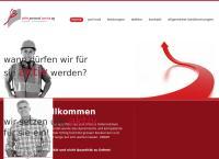 Website von aktiv personal service ag