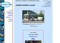 Website von Amrein Handels GmbH Christian Amrein