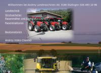 Website von Andrey Landmaschinen AG