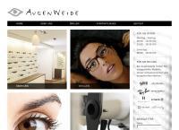 Website von Augenweide GmbH