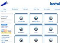 Website von Bertschinger Max AG