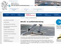 Website von Berufsberatung Kloten / Bülach