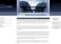 Website von EIKO Immobilien AG