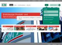 Website von Elektro-Material AG