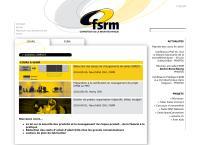 Website von Fsrm