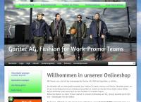 Website von Garitec AG