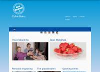 Website von Hergiswiler Glas AG