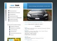 Website von Hallo Taxi - Reisen