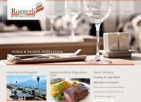 Website von Restaurant & Hotel Roggerli