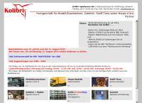 Website von Kolibri Spielwaren