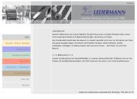 Website von Ledermann Eisenwaren u. Haushalt AG