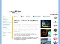 Website von Pilatus Seehotel