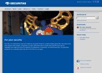 Website von Securitas AG