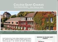 Website von Lycée Français de Genève