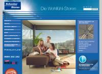 Website von Schenker Storen AG,Liestal