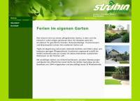 Website von Strübin Gartenbau AG