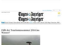 Website von Tages-Anzeiger