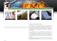 Website von Trepp Haustechnik AG