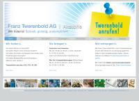 Website von Twerenbold Franz AG