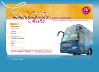 Website von Zumstein Car-Reisen AG