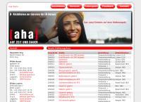 Website von aha personal ag