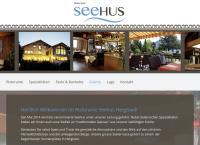 Website von Seehus Hergiswil AG