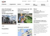 Website von Axpo Kompogas AG