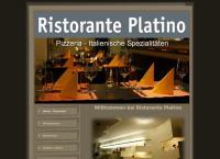 Website von Platino Ristorante