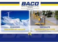 Website von Baco AG