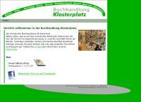 Website von Buchhandlung Klosterplatz GmbH