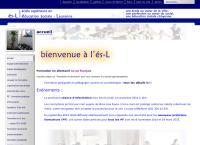 Website von És-l - Ecole Supérieure en Education Sociale - Lausanne
