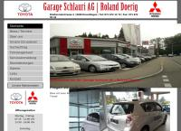 Website von Garage Schlauri AG