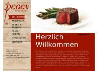 Website von Degen Gastro GmbH