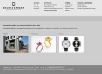 Website von Danuta Studer Goldschmied Atelier
