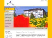 Website von Heim Haus Viva