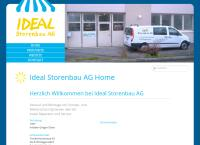 Website von Ideal Storenbau AG