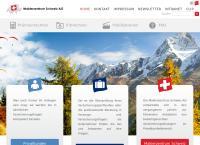 Website von Maklerzentrum Schweiz AG