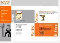 Website von Meyer Liestal AG