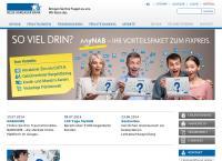 Website von Neue Aargauer Bank AG