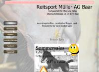 Website von Reitsport Müller