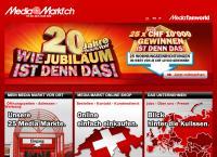 Website von SATURN Volketswil AG
