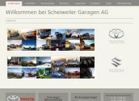 Website von Scheiweiler AG