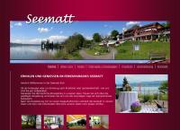 Website von Ferien- u. Erholungshaus Seematt