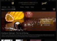 Website von Confiserie Sprüngli AG