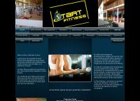 Website von Start fitness