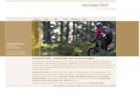 Website von Mountain Thrill AG