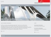 Website von Bänziger Partner AG