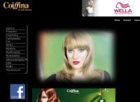 Website von Coiffina Coiffure